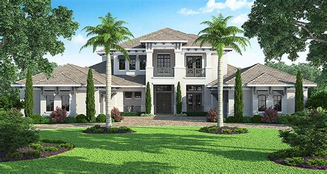 open floor plan home designs five bedroom florida house plan 86016bw architectural