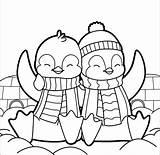 Penguin Coloring Pages Cartoon Printable Crayola Hard Getdrawings Getcolorings Pengui sketch template