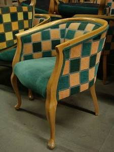 27 X USED CHEQUERED TUB CHAIRS Tiger Classifieds