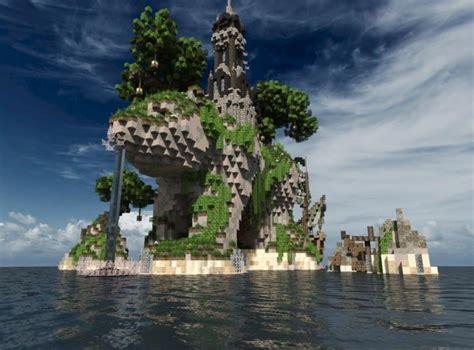 sustinere island  ship minecraft building