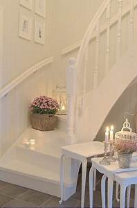 Treppe Shabby Chic : shabby chic and romantic ispirations home sweet home treppe haus treppe y flure ~ Frokenaadalensverden.com Haus und Dekorationen