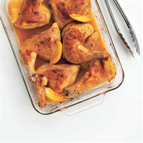 cuisine cuisse de poulet cuisses de poulet au citron et au paprika ricardo