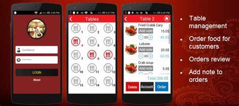 application cuisine android plantilla comprar app para android camarero