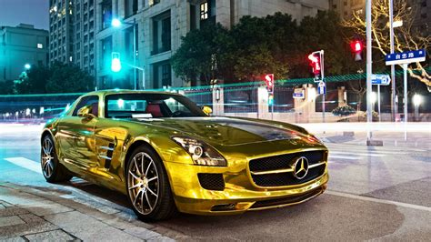 mercedes benz jeep gold gold mercedes benz sls amg wallpapers and images