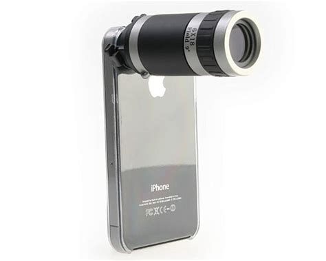 iphone zoom lens conice zoom lens for iphone samsung galaxy s and xperia