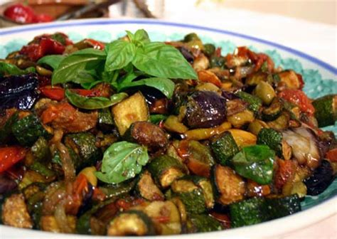cosi cuisine caponata siciliana