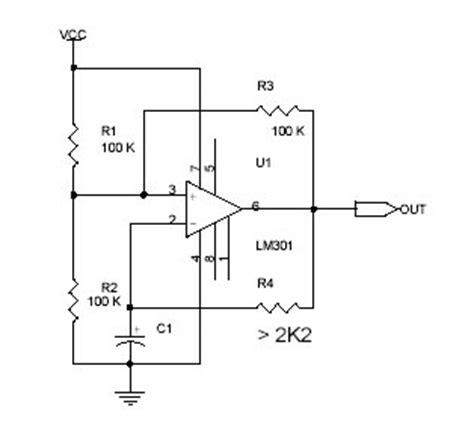 Square Wave Oscillator Free Electronic Diagram Circuit