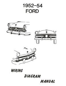 Ford Car Wiring Diagram Manual