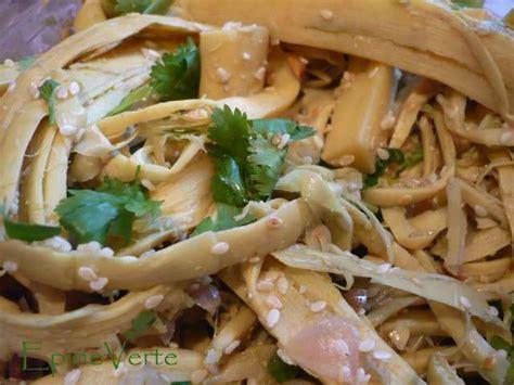 cuisiner les pousses de bambou les meilleures recettes de pousses de bambou