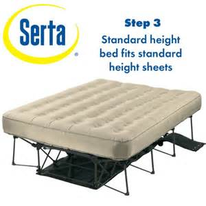 serta ez air mattress with never flat pump sporting goods