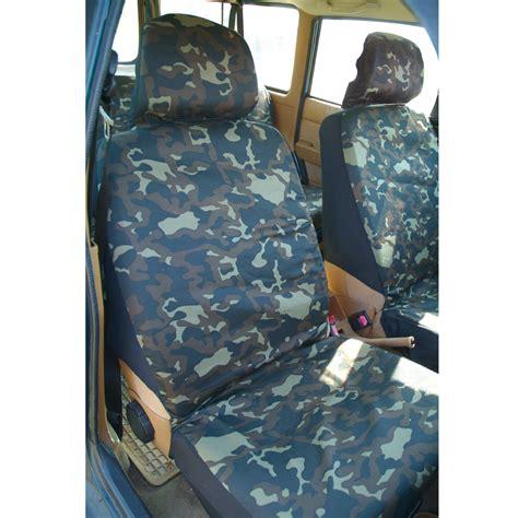house de siege auto ducatillon set housses de voiture camouflage chasse