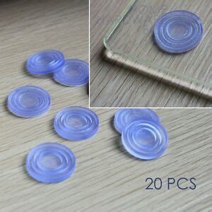 soft rubber pad for glass table top grip buffer bumper 20 pcs