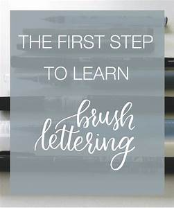brush lettering learning and hands on pinterest With learn brush lettering