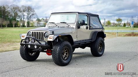 lj jeep for sale davis autosports jeep wrangler lj lifted and built for