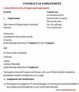 Employment Contract Agreement Sample Employment Contract Agreement Sample Business Thank You Letter Thank You Letter For Contract Thank Employee Termination Letter Template Sample Employment To Free Of View Personal Thank You Letter Samples Writing Thank You Notes Thank You