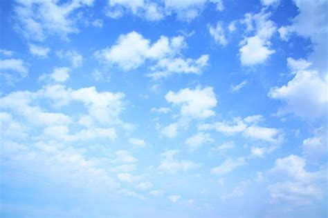 papier peint ciel et nuages ciel bleu beau pixers fr