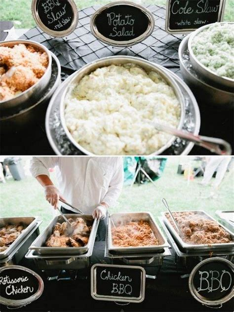 top 25 rustic barbecue bbq wedding ideas wedding