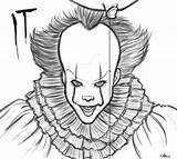 Pennywise Lineart Deviantart sketch template