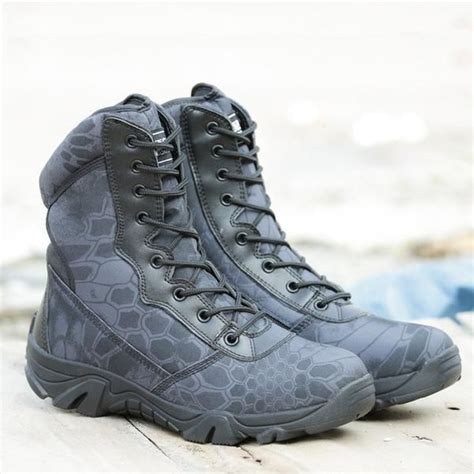 men military tactical boots autumn winter waterproof army boots desert safty work shoes