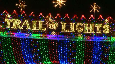 christmas lights austin tx trail of lights in austin texas quot christmas music quot youtube
