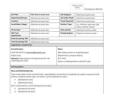 description form template description form template description form