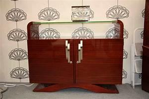 Meuble Art Deco Occasion : petit buffet art deco en palissandre des indes vendu esprit art d co vente meubles art d co ~ Teatrodelosmanantiales.com Idées de Décoration