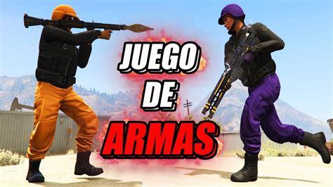 Todas las noticias y novedades sobre gta online. JUEGO DE ARMAS En GTA 5   GTA V Online - YouTube