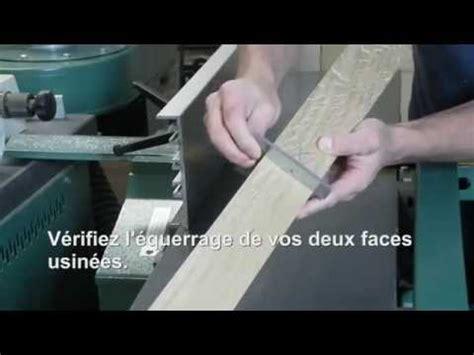 comment raboter une planche de bois brute