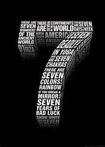 Why The Number 7 Is Considered A Lucky Number