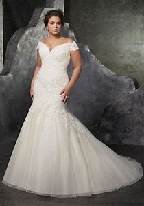 Sexy trumpet off the shoulder tulle lace beaded plus size for Plus size off the shoulder wedding dress