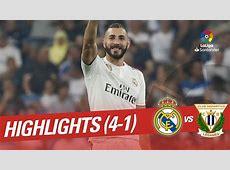 Resumen de Real Madrid vs CD Leganés 41 YouTube