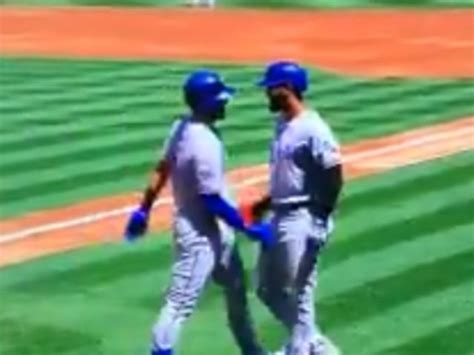 WATCH: Texas Rangers Players Celebrate Home Run with ...