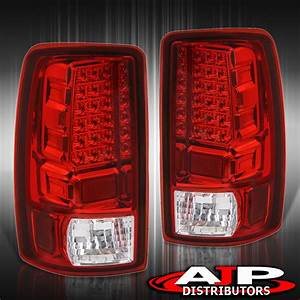 Led Stop Brake Tail Lights Lamps Red For 2000