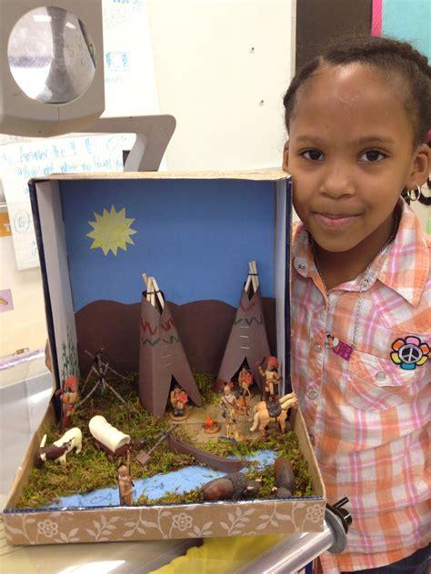 culminating activity   native american unit