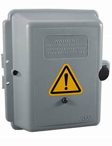 Standalone Electric Box Camera With Motion Activated Recording