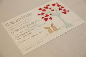 introducing bunnies wedding invitation ivy ellen With wedding invitations order online uk