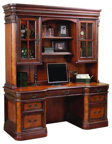 credenza desk and hutch the cheshire home office credenza desk with hutch