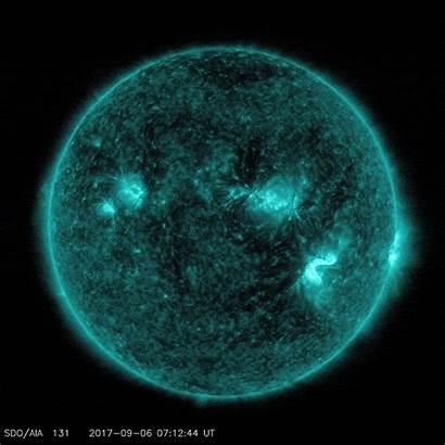 Solar Intense Earth Storm Coming Flare Auroras