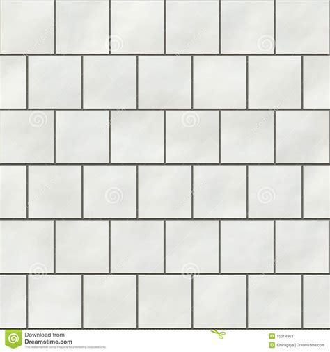Seamless White Square Tiles Stock Photos   Image: 15014963