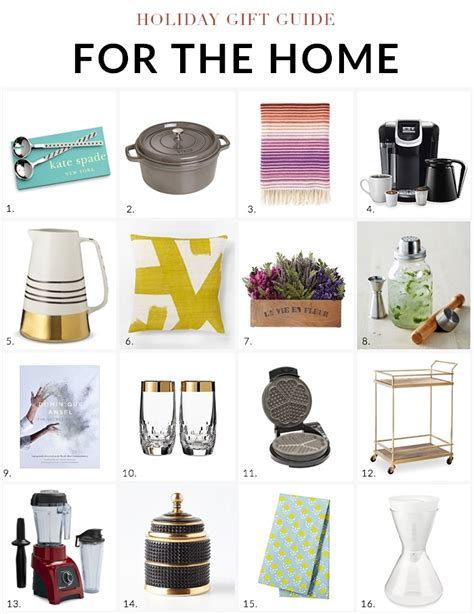 best gifts for the home endearing holiday gift guide 2014