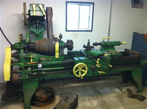 photo index bradford machine tool  belt drive lathe
