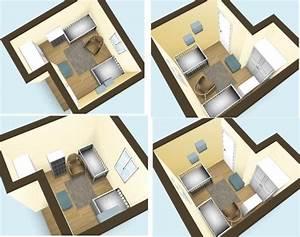 Comment Disposer Les Couleurs Dans Une Pièce : organiser une petite chambre pour deux au mieux page 3 ~ Preciouscoupons.com Idées de Décoration