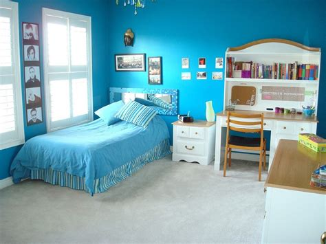 Blue Teenage Girls Bedroom Ideas Painting A Bedroom Ideas