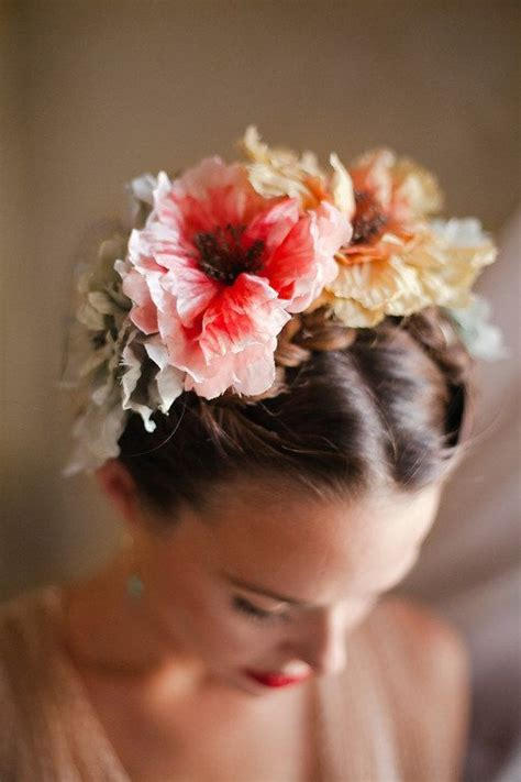flower crown for day of the dead look Flowers in hair