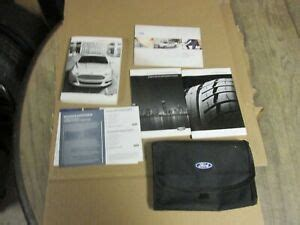 ford fusion owners manual handbook guide package