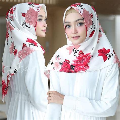 hijab segitiga instan elfa kekinian terbaru  murah