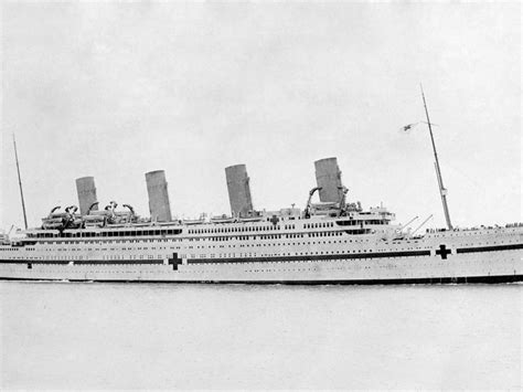 Titanic Sister Boat Name by One Hundred Years Ago The Titanic S Sister Ship Exploded
