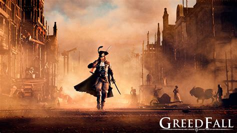 greedfall upcoming rpg   story trailer  release window