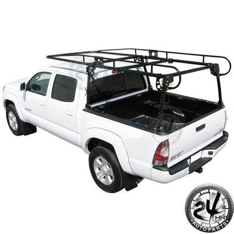 adjustable truck contractor ladder rack pick  lumber