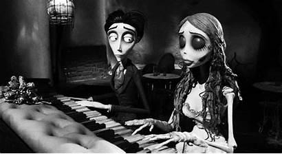 Tim Burton Corpse Bride Cadaver Piano Noiva